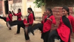 India's Red Brigade Hits Back at Attackers of Women