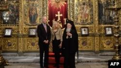 11月23日美國副總統拜登參觀了伊斯坦布爾的希臘東正教聖喬治教堂。