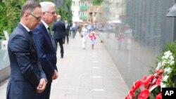 Министры иностранных дел Польши и Германии Яцек Чапутович и Хайко Маас