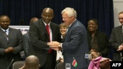 美国签署对肯尼亚援助计划