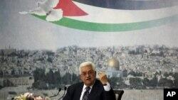 마흐무드 압바스 팔레스타인 자치정부 수반 (자료사진)