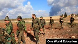 نیروهای وفادار به بشار اسد