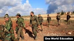 Abasirikare bayoboka Prezida Bashar al-Assad wa Siriya.