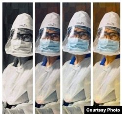 Anchalee Dulayathitikul, a Thai nurse in Maryland, has been providing care for Covid-19 patients since the beginning of the outbreak in March 2020.