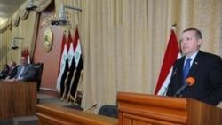 رجب طیب اردوغان، نخست وزیر ترکیه در پارلمان عراق