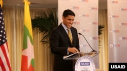USAID အေမရိကန္ႏိုင္ငံတကာဖြံ႔ၿဖိဳးမႈေအဂ်င္စီ အုပ္ခ်ဳပ္ေရးမႉး Dr. Rajiv Shah၊