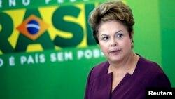 President Brazil, Dilma Rousseff mengumumkan rencana restrukturisasi utang 12 negara Afrika (foto: dok).