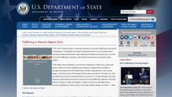 အေမရိကန္ထုတ္ျပန္မယ့္ လူကုန္ကူးမႈ အစီရင္ခံစာ ျမန္မာအစိုးရပယ္ခ်