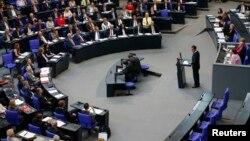 Parlemen Jerman mengakui pembunuhan warga Armenia pada era Perang Dunia I sebagai genosida, di Berlin hari Kamis (1/6).
