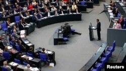 2016年6月2日星期四,德国下议院讨论1915年亚美尼亚大屠杀议案。