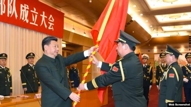 Ông Tập từng bổ nhiệm các tướng lĩnh có kinh nghiệm trận mạc với Việt Nam.