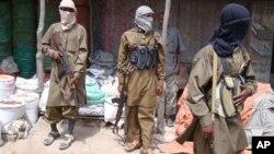 Members of the terrorist organization, al-Shabaab. (file)
