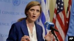 سامانتا پاور، نماینده آمریکا در سازمان ملل گفت آمریکا خواستار تشکیل جلسه درباره آزمایش موشکی ایران شده است.