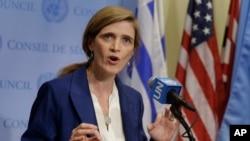 Samantha Power, embajadora de EE.UU. ante la ONU, pidió al Consejo de Seguridad que lleve a cabo la votación sobre las nuevas sanciones a Corea del Norte.