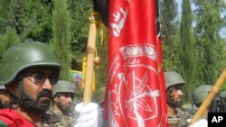مسؤولیت های امنیتی لغمان به نیروهای افغان سپرده شد