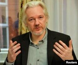 '위키리크스' 설립자 줄리언 어산지.