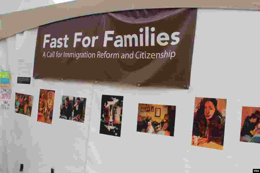 """La campaña """"Ayuno por las Familias"""" busca llamar la atención de los congresistas en especial de los republicanos para que aprueben una reforma de inmigración."""