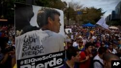 López podría ser llevado a otra prisión por participar de una protesta pacífica dentro de la prisión en donde permanecía hasta ahora.