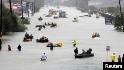 Последствия урагана «Харви» в Хьюстоне. В результате стихии в США погибли 106 человек
