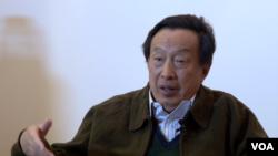 中共开国大将罗瑞卿之子罗宇接受美国之音专访(美国之音章真拍摄)