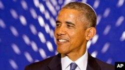 Президент США Барак Обама під час виступу перед єврейською громадою. 22 травня, 2015 р.