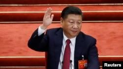 VOA连线(叶兵):川普金正恩等贺习近平连任党魁19大记者会观察