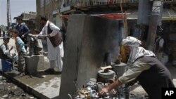 Une scène de rue à Kaboul