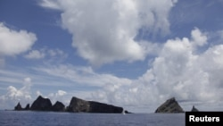 مشرقی بحیرہ چین میں واقع ایک متنازع جزیرہ(فائل)