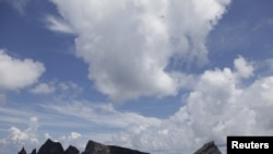 存在爭議的釣魚島(日本名尖閣列島)