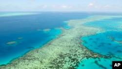 資料照:鳥瞰澳大利亞大堡礁