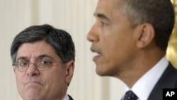 Джек Лью и Барак Обама