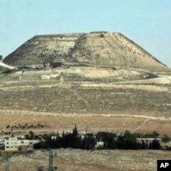 Herodion - former palace for Jewish King Herod