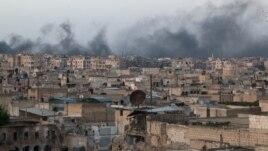 Siri, sulme ajrore në Aleppo