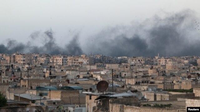 ការវាយប្រហារតាមយន្តហោះក្នុងក្រុង Aleppo សម្លាប់មនុស្សយ៉ាងតិច៥នាក់