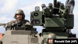 Австрійські, угорські та чеські військові беруть участь в навчаннях