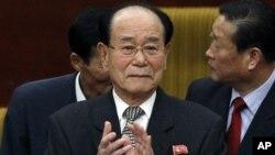 김영남 북한 최고인민회의 상임위원장. (자료사진)