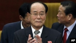 김영남 북한 최고인민회의 상임위원장. (자료 사진)