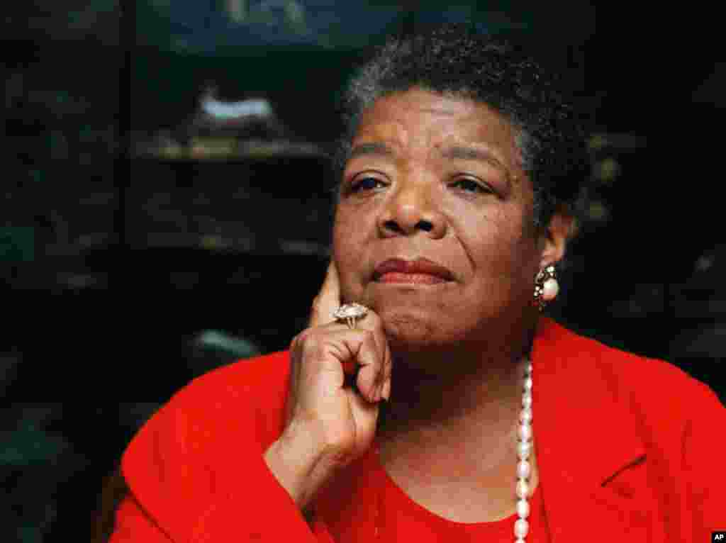 Maya Angelou, 16-sentabr, 1996-yil.