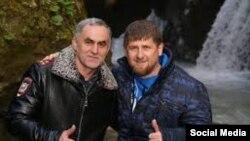 Ramzan Kadırov və Najud Quçiqov