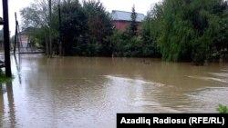 Masallı kəndlərini su basıb