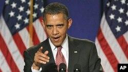 9月16号美国总统奥巴马就巴勒斯坦在联合国寻求成为正式成员国的问题在维吉尼亚州发表讲话