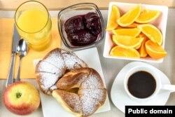 ہوٹلوں میں فراہم کیا جانے والا کانٹینٹل ناشتہ