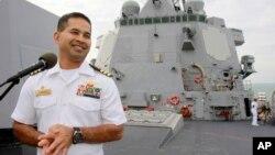 Komandan AL Amerika, Michael Vannak Khem Misiewicz, dituduh membocorkan rahasia militer AS kepada kontraktor pertahanan asing (foto: dok).