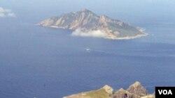 Kepulauan yang dinamakan Senkaku di Jepang dan Diaoyu di Tiongkok.