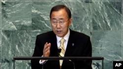 ເລຂາທິການໃຫຍ່ຂອງອົງການສະຫະປະຊາຊາດ ທ່ານ Ban Ki-moon