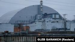 Фото: Об'єкт «Укриття» на Чорнобильській атомній електростанції