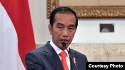 Presiden Jokowi saat memberikan pengarahan pada Sidang Kabinet Paripurna di Jakarta, 7 Januari 2019. (Foto: Setpres RI)