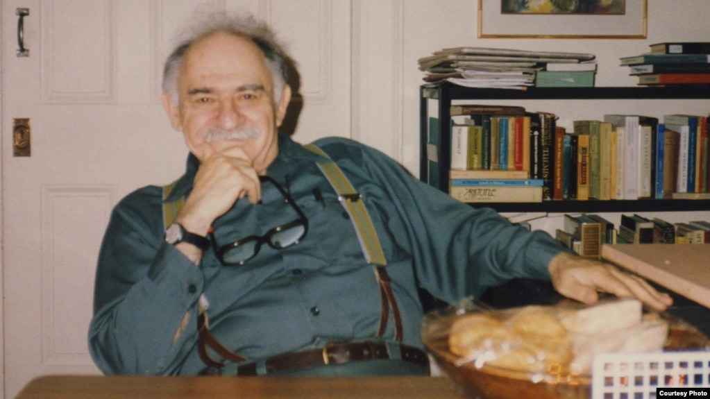 Murray Bookchin. (Photo courtesy Janet Biehl)