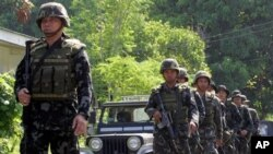 Binh sĩ thủy quân lục chiến Philippines