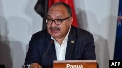 Aliyekuwa Wairi Mkuu wa Papua New Guinea, Peter O'Neill.